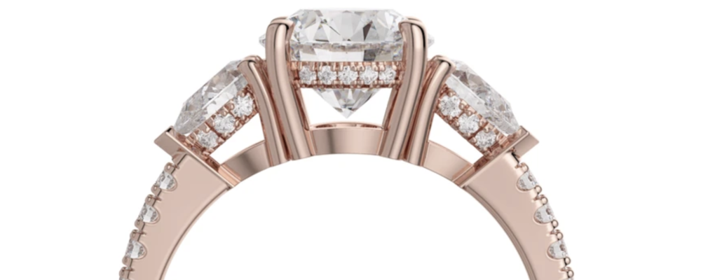 Rose Gold Engagement Ring Trends 2020