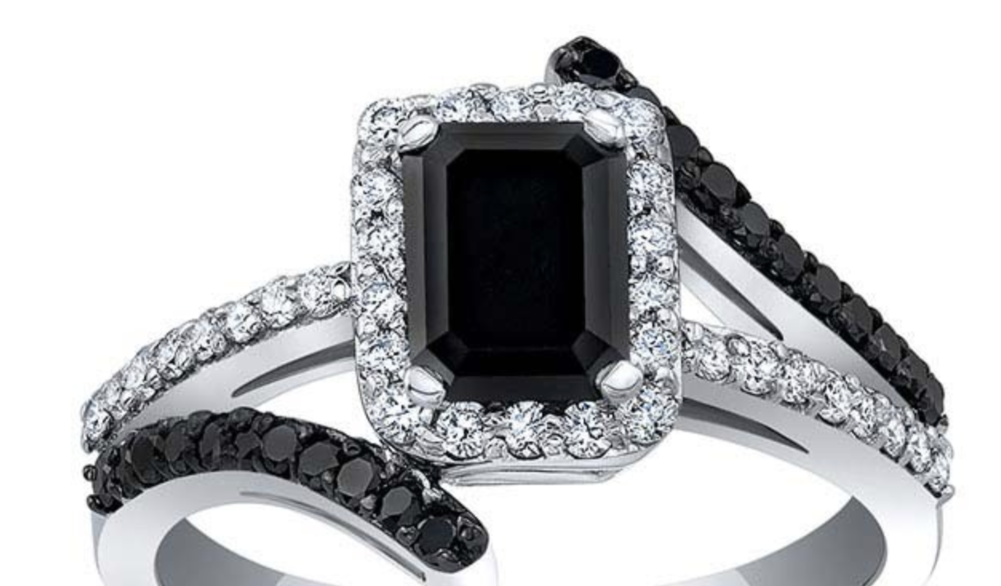 Black Diamond Engagement Ring Trends 2020
