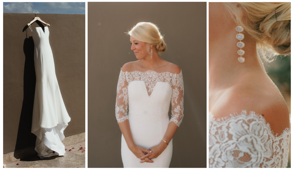 bridal dress inspiration vera wang beach wedding los cabos