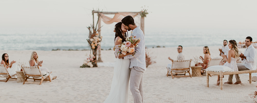 luxury beach wedding and honeymoon
